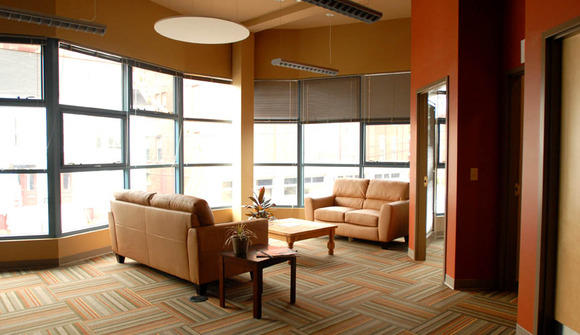Peleton upstairs lounge