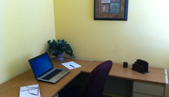 Office interor wall