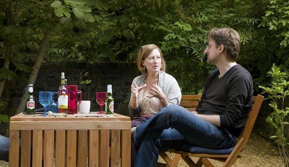 Relaxing in garden 2