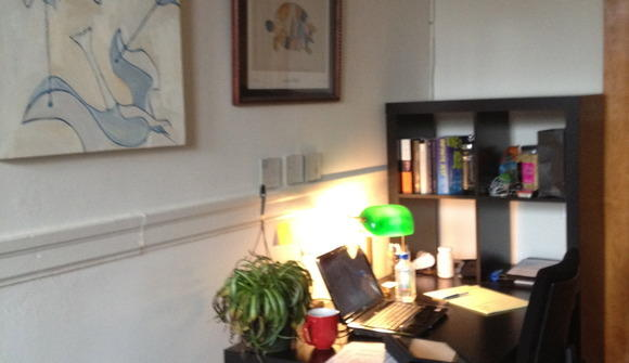 shared office in logan square - $200/month