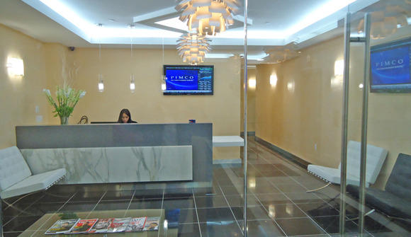 Executive office suites reception