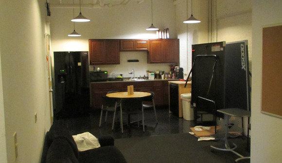 Kitchen chilloutarea