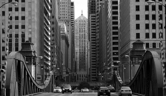 Lake and LaSalle in the Loop
