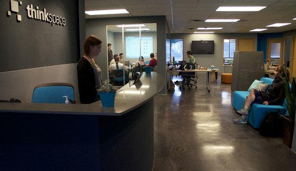 Craigslist thinkspace seattle portfolio lobby conference room
