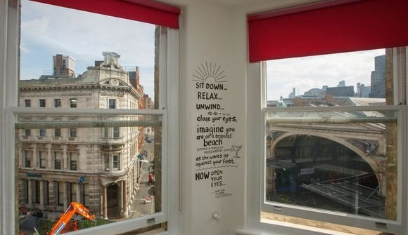 View from huckletree clerkenwell