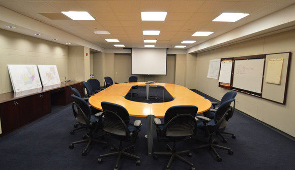 Executive conference room war room overview