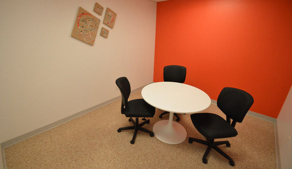 Small private meeting room
