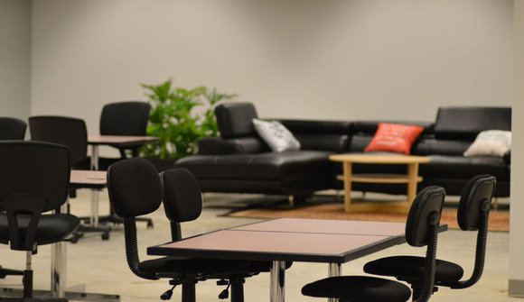 The domain coworking area compressed