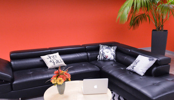 The domain meeting lounge area