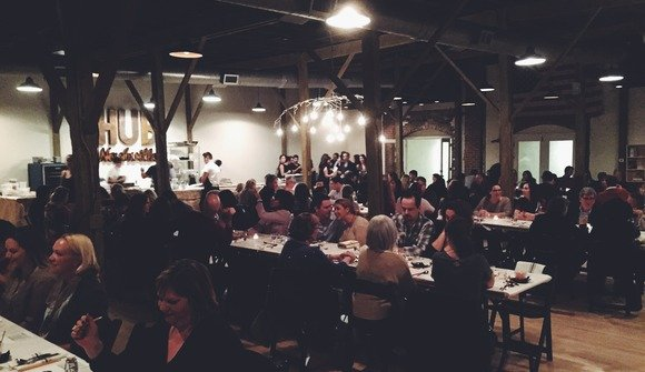 Dinner lab pops up in refinery with a unique cuisine