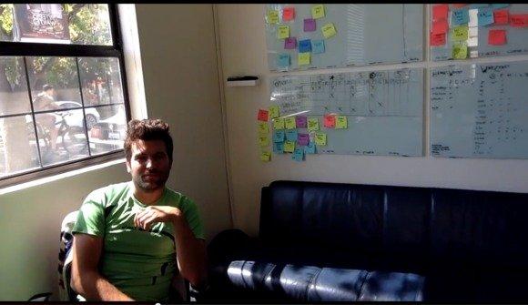 Swarm office white boards window