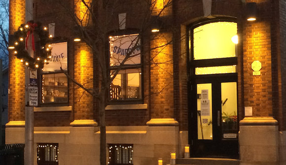 Building in lights entrance 800w