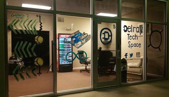 Delraytechspace outsidenight 960x540
