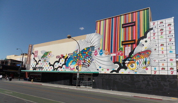 Emergency arts 6th street mural