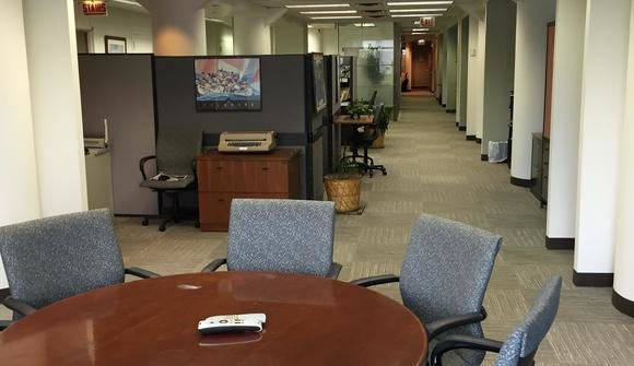 Interior of the office space 2015