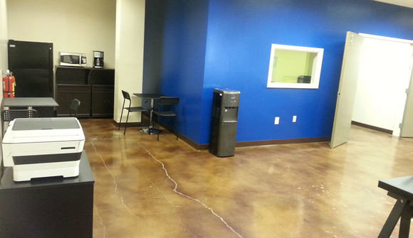 The industry studios cowork space kitchen