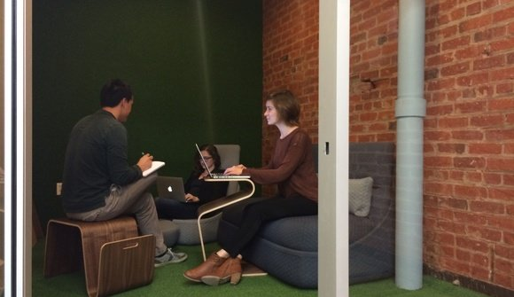 Casual meeting room