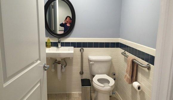 Office pics bathroom